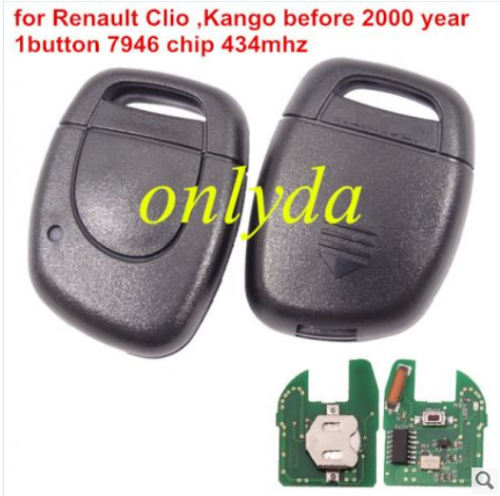 For Renault Symbol,Clio II,Kango IIClio ,KangoII 434mhz with 7946 chip before 2000 year