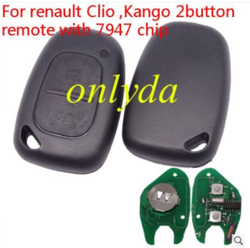 For Clio ,Kango 434mhz with 7947 chip