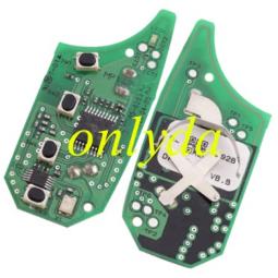 Original Hyundai 3+1 button remote key with 434mhz MP14P-22