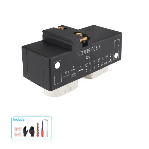 Electric Cooling Fan Control Module Relay-Wholesale Price  for VW Audi  OE:1J0919506K/Shopify,Amazon,Ebay Hot Seller