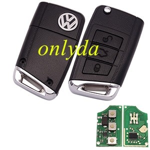 For VW 3 button remote key with 315mhz