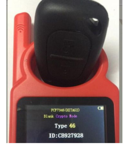 For Kangoo II, Master II,Traffic II Opel:Vivaro,Movano 2 button remote key pcf 7946-433mhz before 2000 year