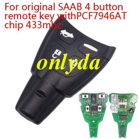 For original PCB 4 button 433MHZ with PCF7946 chip