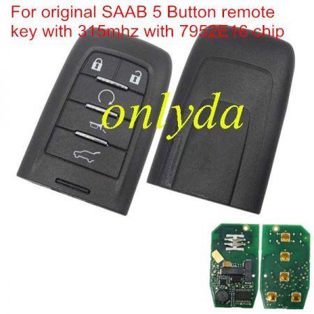 original 5 Button 315 mhz with 7952E16 chip