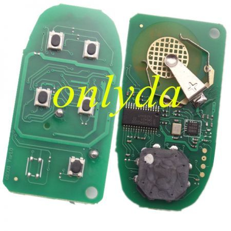 keyless remote key with 434mhz with PCF7945M (HITAG AES) chip