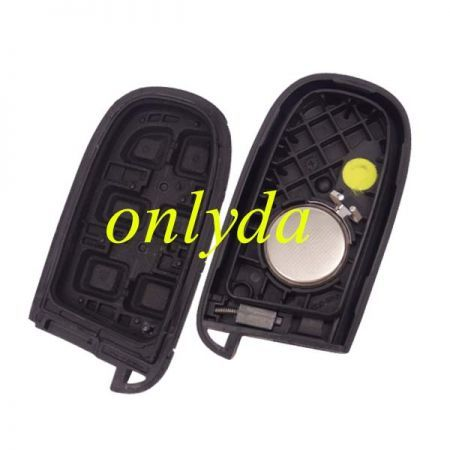 original 4+1 button remote key with 434MHZ with HITAG AES
