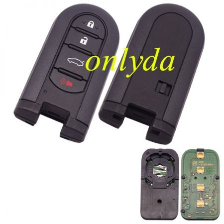 For original Perodua 3+1B remote key PCF7953(HITAG3)-434mhz for Malaysia car