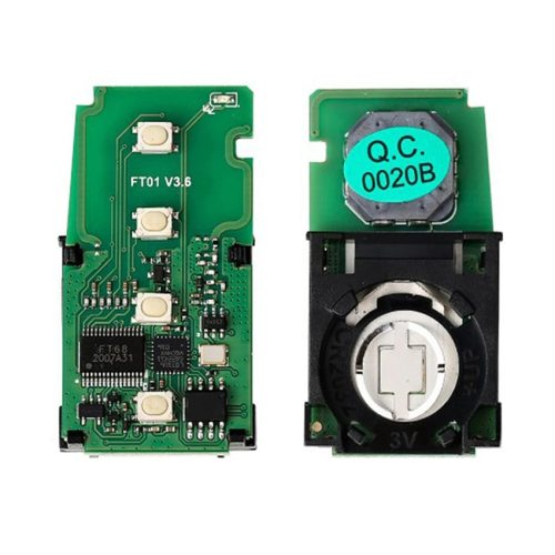 Lonsdor FT01-0020 314/312/433MHz Smart Remote Car Key Keyless go Control Transmitter Circuit Board PCB 8A Chip for Toyota/Lexus