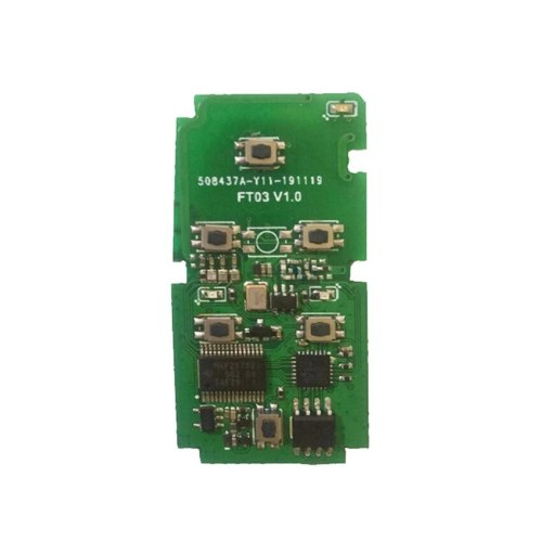 Lonsdor FT03 Circuit Board 0120 312/314/433/434Mhz Keyless Go Remote Smart Key Pcb 8A Chip for Lexus for Toyota Alphard Vellfire