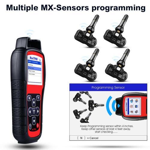Autel TS508K TPMS Auto Diagnostic Tool Scanner + 315/433/2IN1 MHz MX-Sensor Better Than TS601 & TS401