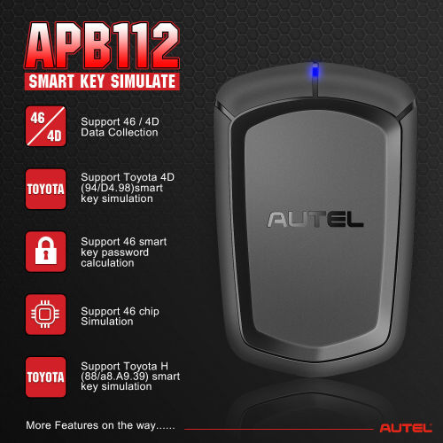 Autel APB112,G-BOX2,8A Adpater Accessory Tool for IM508+XP400, IM608 & MX808IM+XP400