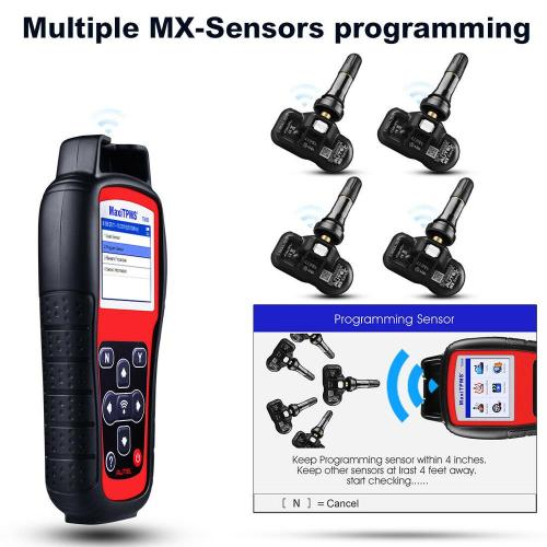 Autel MaxiTPMS TS508 TPMS Tire Pressure Sensors Activate Program Tool Scanne