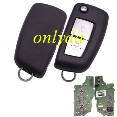 For Nissan Original 2 button remote key 433mhz with PCF7961M 4A chip