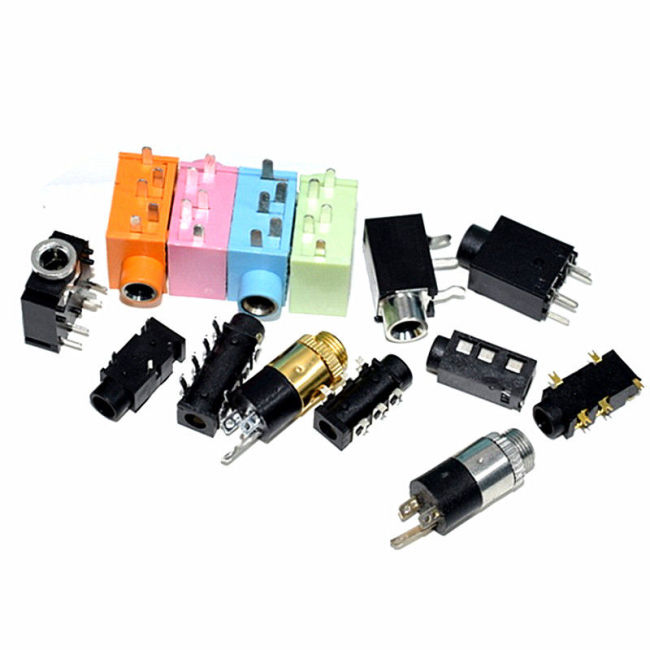 Headphone socket 3.5mm audio video female socket 3.5 stereo dual sound fatigue pj313d 3f07