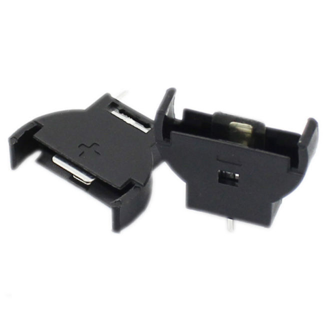 Cr1220 CR2032 button battery box 3V button patch battery holder shell battery button battery