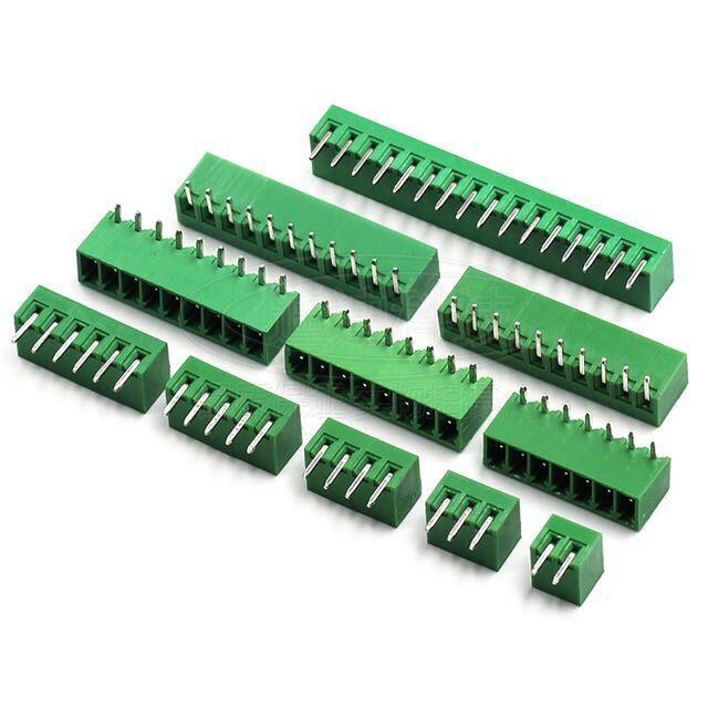 Plug in terminal kf15edg 5.08 2P3 4 5 6 7 8 9-16p bent pin / straight pin 2edg