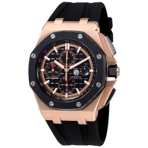 OEM Chronograph watch men wrist luxury watches custom logo feature watch