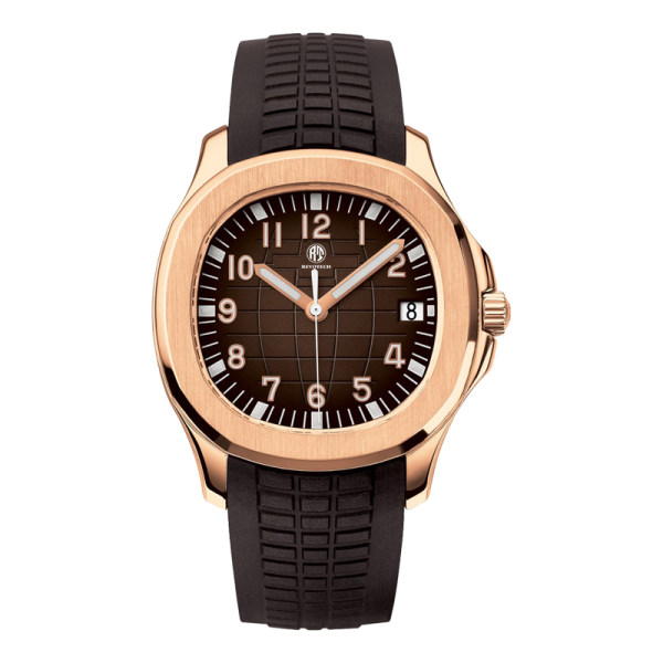 2020 Top Brand OEM Custom Men Luxury Watches with Silicone Strap