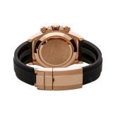 Top Band Lxury Japan Movement Quartz Watch Rubber Strap Men Custom Watch