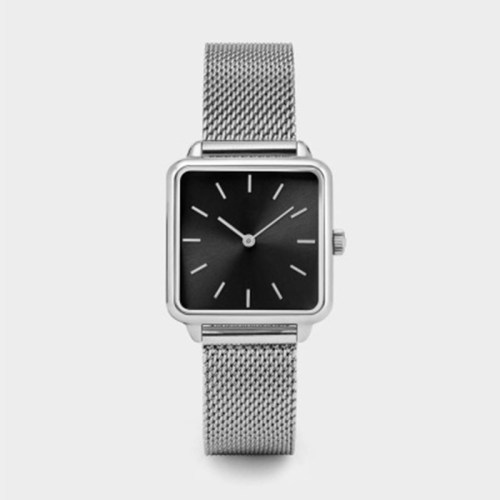 Hot selling Square Movement Popular Simple Watch Stainless Steel Custom Mens Quartz Watch