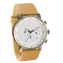 2020 men minimalist Leather Band quartz watch custom logo waterproof fastrack fashion watch