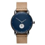 2020 hot sale No logo simple wholesale mens leather quartz watch custom logo mens fashion large dial watch oem