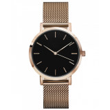 OEM Custom Logo Stainless steel Quartz Watch