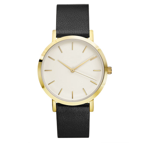 Hand Clock Custom Logo Minimalist Quartz Watch