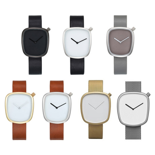 Leather Ladies Simplicity Quartz Watches