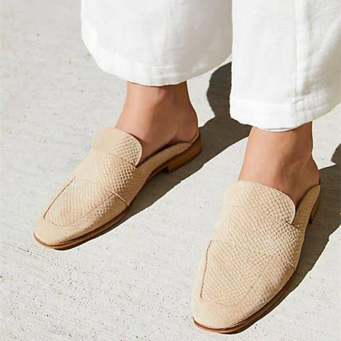 Ladies Casual Vintage Muller Shoes