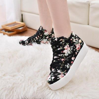 Summer Sport Casual Shoes 2018 New Women Fashion Print Canvas Shoes female Footwear Leisure Women Vulcanize Shoes CLD903