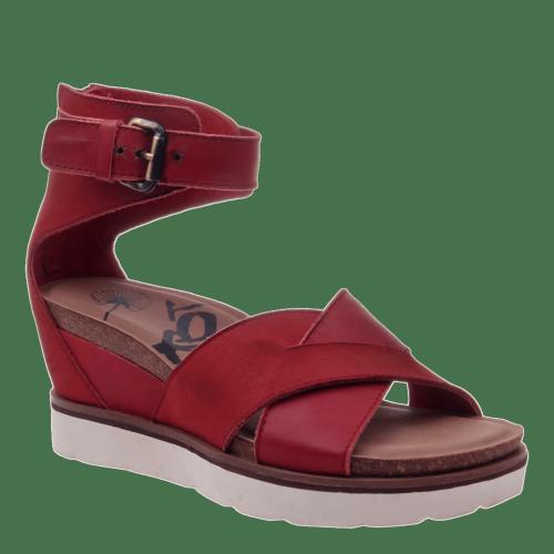TEAMWORK in APPLE Wedge Sandals