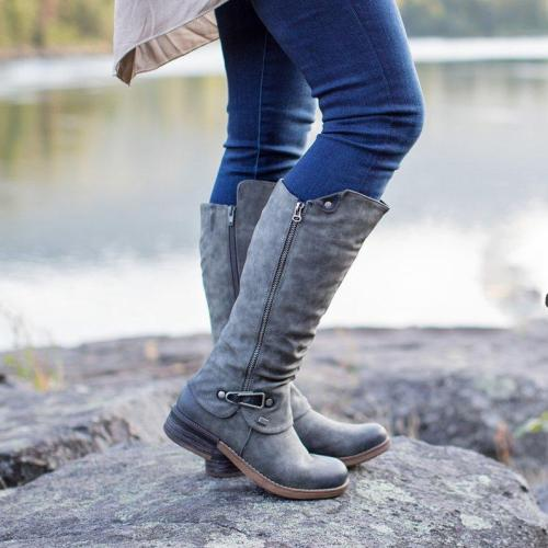 Daily Zipper All Season Boots