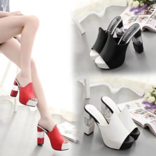 High Heel Sandals Platform Women's Shoes