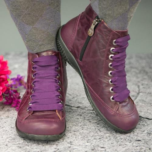 Plus Size Comfy Casual Ankle Boots