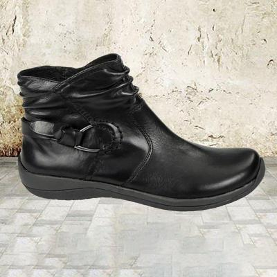 Women's comfortable soft bottom and ankle boots