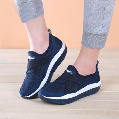 Shock Absorption Light weight Impact Resistance Anti - Slip Elastic Band Sneakers