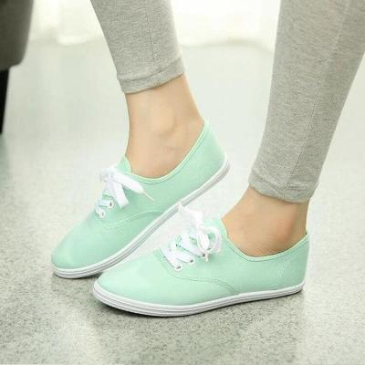 Women canvas shoes 2020 new fashion Comfortable light flat shoes woman 12 colors women flat shoes ladies shoes