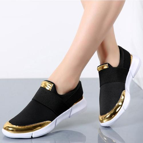 Women Shoes New Loafers Women Flats Stretch Fabric Casual Shoes Woman Sneakers Slip On Lightwieght Spring Summer Shoes Ladies