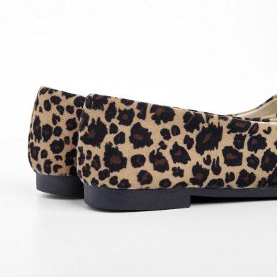 Leopard Flat Heel All Season Flats