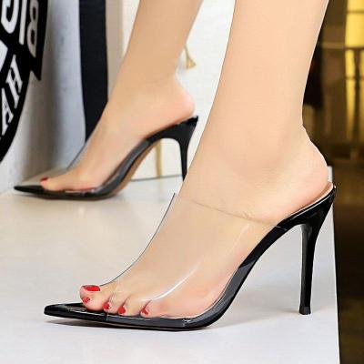 Summer Stiletto Heel Summer Daily Peep Toe Slippers