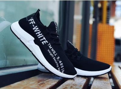 Men Mesh Fabric Breathable Casual Running Sneakers