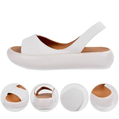Cuteshoeswear LITTHING Candy Color Women Sandals Summer Fashion Rome Slip-On Breathable Non-slip Shoes Woman Slides Solid Casual Shoes