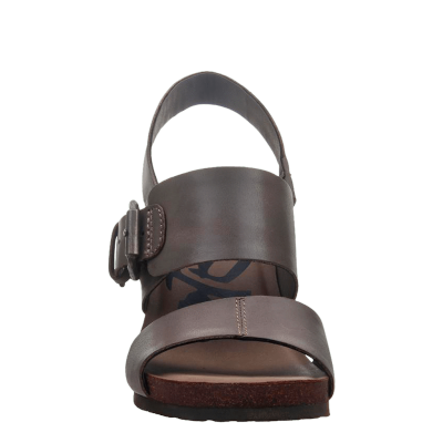 OVERNIGHT in ZINC Wedge Sandals