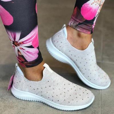 Womlen Woven Breathable Sneaker Sheaker Shoes