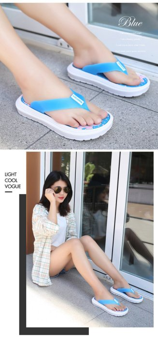 2019 Summer Women Slippers Flip Flops Women Beach Slippers Casual Woman Sandals Ladies Summer Holiday Shoes Thick Sole A1439