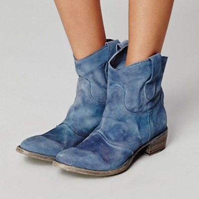 Daily Flat Heel Spring Boots