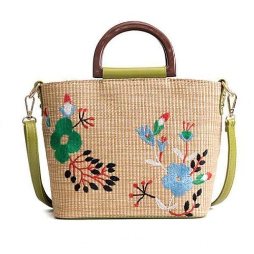 Folk-Custom Woven Handbag