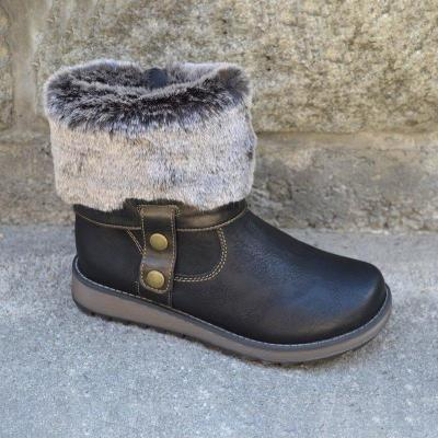 Daily Slip on Casual Snowboot
