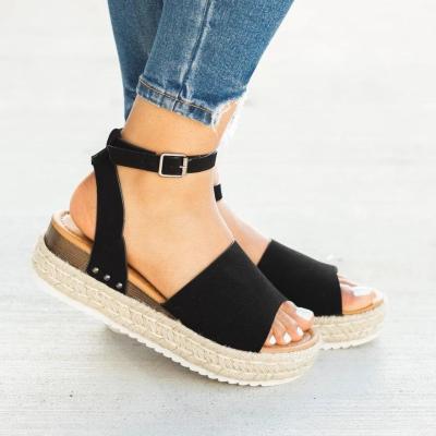Cuteshoeswear CuteshoeswearLitthing Sexy Wedges Shoes Women Pumps Wedge Sandals Black High Heels Summer Shoes Flip Flop Chaussures Femme Platform Sandals